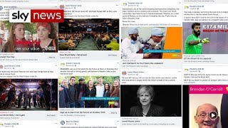 Facebook adverts target Remain areas of the UK ahead of people's vote march - SKYNEWS