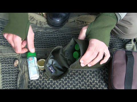 Taschen und Dosen zum Lagern von Zutaten für die Waldküche | Outdoor AusrüstungTV