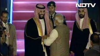 पाकिस्तान के बाद भारत पहुंचे सऊदी अरब के शहजादे सलमान - NDTVINDIA