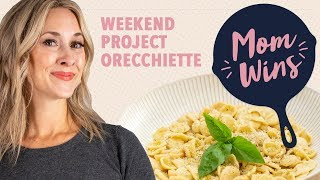 Homemade Orecchiette Pasta with Bev Weidner | Mom Wins - FOODNETWORKTV