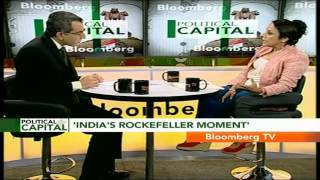 "Political Capital- ""Mkts Already Celebratory Of Modi's Rise"" - BLOOMBERGUTV"