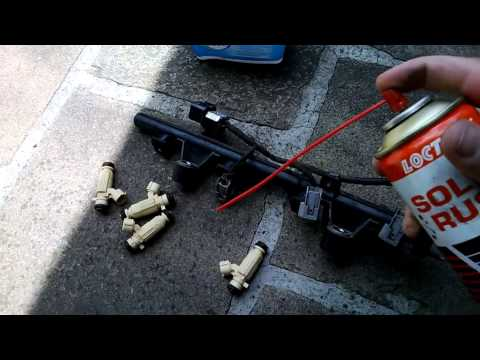Desmontagem e Limpeza Bicos Injetores I30