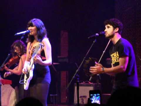 Charlene Kaye &amp; Darren Criss - Skin and Bones (live at the Apocalyptour in Los Angeles)