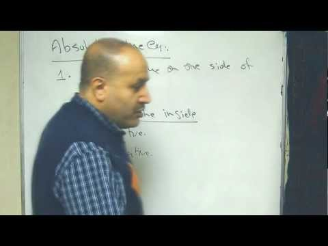 absolute value (part 1)
