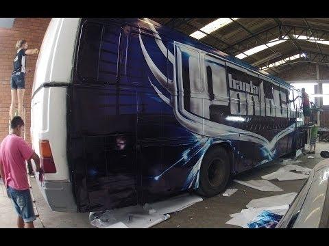 Envelopamento Ônibus  | Banda PontoCom