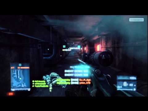 Battlefield 3 Sniper QUAD! my first ever quad! And 2nd ever on bf3? (4 kills 1 bullet)