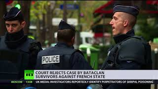 'State bears no responsibility': French court rejects Bataclan case - RUSSIATODAY