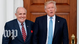 Giuliani's history of defending Trump - WASHINGTONPOST