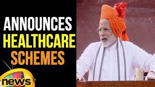 PM Modi Announces Healthcare Scheme Ayushman Bharat, Roll Out on Sept 25 | 72 Independence Day - MANGONEWS