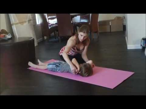 Gymnastics Lesson For Your Child With Coach Meggin At Home! (Professional Gymnastics Coach)