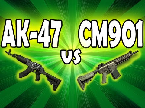 MW3 Tips & Tricks: AK-47 vs CM901 - BEST Assault Rifle?