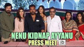 Nenu Kidnap Ayyanu press meet - idlebrain.com - IDLEBRAINLIVE