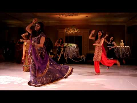 Surprise Indian-Latin Mashup Wedding Dance