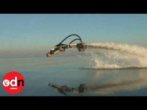 The dolphin jetpack that lets you swim like one