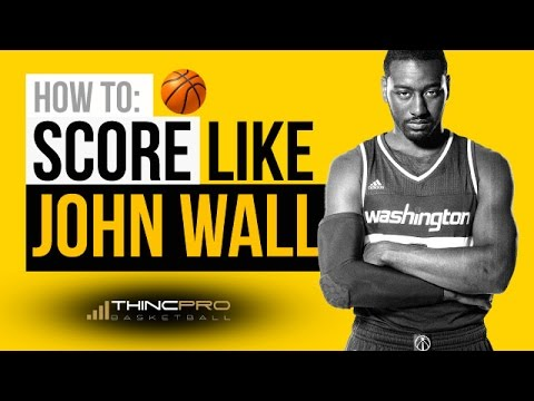 How to: Score Like JOHN WALL - SIMPLE & DEADLY Basketball Moves You Can Use to Win Games!