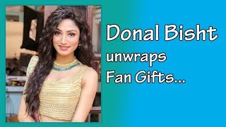 I hope fans will love my new character as much they loved Sharanya, says Donal Bisht - Gift Segment - TELLYCHAKKAR