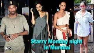 A starry Monday night in Mumbai - IANSLIVE
