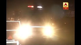 Fire reported at room number 242 of PMO late at night; 10 fire-tenders doused it off - ABPNEWSTV