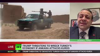 Frenemies be like... Trump threatens to 'devastate' Turkish economy if Ankara attacks Kurds - RUSSIATODAY