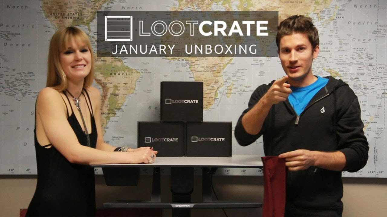 Loot Crate Unboxing - January 2014