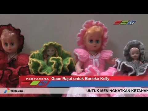 Boneka Kelly Gaun Rajut