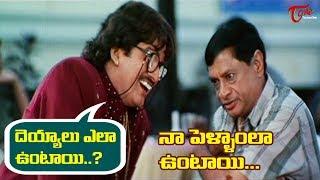 దెయ్యాలు ఎలా ఉంటాయి..? నా పెళ్ళాంలా ఉంటాయి | Telugu Movie Comedy Scenes | TeluguOne - TELUGUONE