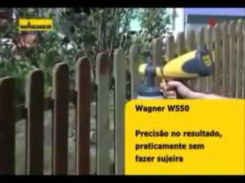 Wagner W560 - www.ferramentasdepintura.com.br