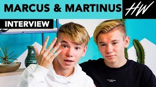 Marcus & Martinus Are So CUTE They Teach Us Their Iconic Dance Moves! | Hollywire - HOLLYWIRETV