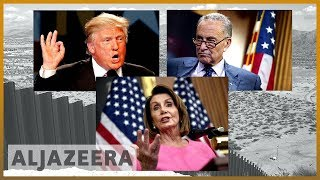 🇺🇸 US shutdown: No end in sight for border wall deadlock | Al Jazeera English - ALJAZEERAENGLISH