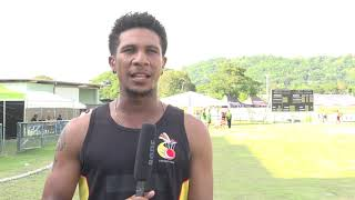 ICC Men's T20 World Cup Global Qualifier - Charles Amini Jnr  - PNG v Vanuatu - CRICKETWORLDMEDIA