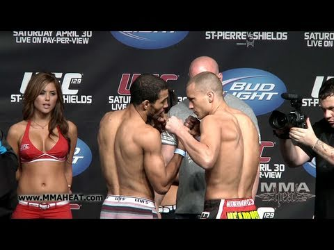 UFC 129: Jose Aldo vs Mark Hominick: Weigh-In + Face-Off