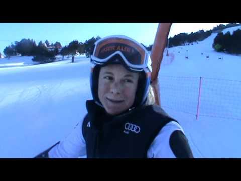 Video - Denise Karbon all'attacco sulla pista di Soldeu | FISI Official | FISI Official