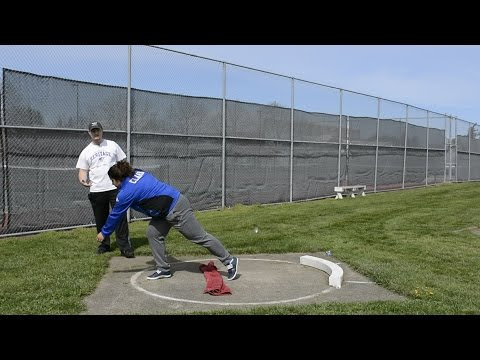 Over the Towel/Cone Shot Put Drill (For Gliders)