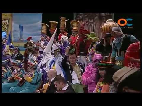 Sesión de Preliminares, la agrupación Los picaos actúa hoy en la modalidad de Coros.