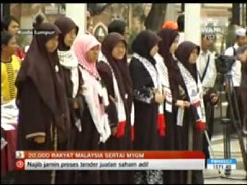 GMJ Flash mob news on Astro Awani