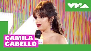 Camila Cabello on VMA Nerves & Best New Artist Nomination | 2018 Video Music Awards Pre-Show - MTV