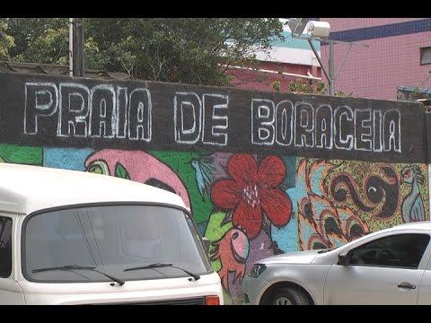 TV Costa Norte - Vandâlo ateia fogo na Escola Praia de Boraceia