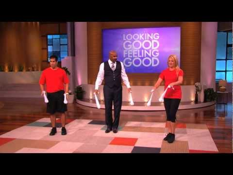 Steve Harvey Poi Exercise