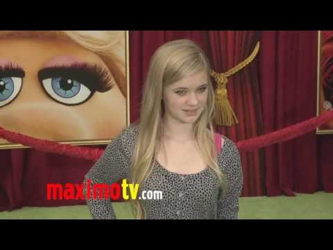 "Sierra McCormick at ""The Muppets"" World Premiere Arrivals"