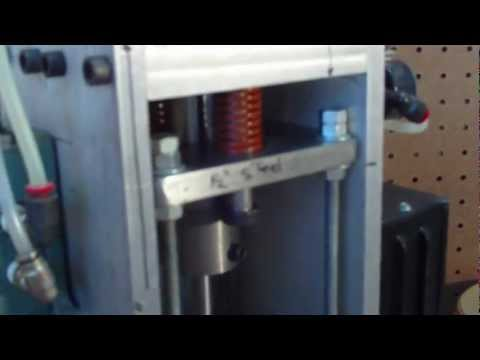 Hobby Injection Molding Machine Cycle