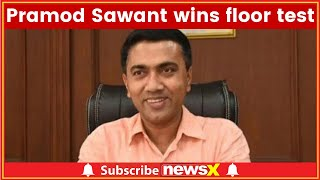 Goa Chief Minister Pramod Sawant wins floor test by 5 votes, 20 MLAs vote for BJP - NEWSXLIVE
