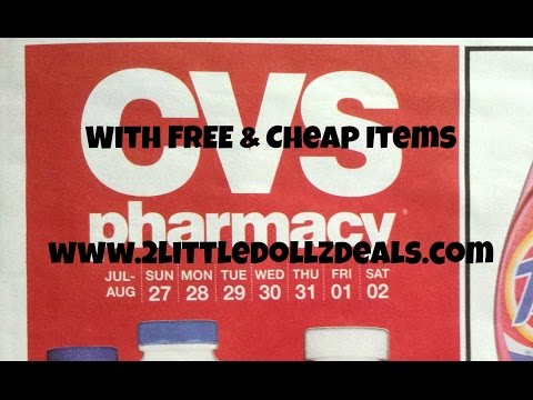 CVS Sale Preview With Free & Cheap Items Coupon Match ups 7/27/14 to 8/2/14