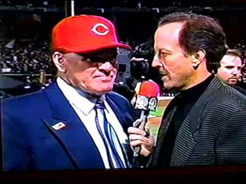 Pete Rose Jim Gray interview 1999 ALL CENTURY TEAM full clip