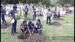 Minister Nakka Anand Babu Participates Vanam Manam Program at Tadikonda School in Guntur | CVR News - CVRNEWSOFFICIAL