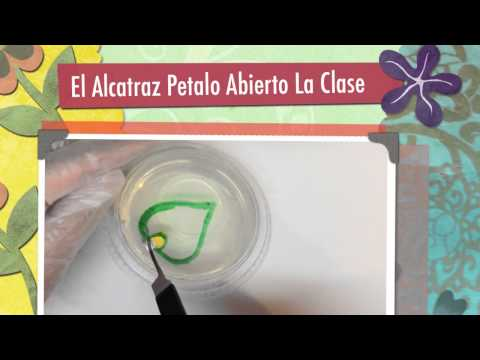 CURSO DE GELATINA FLORAL PASO A PASO ALCATRAZ PETALO ABIERTO NIVEL 2