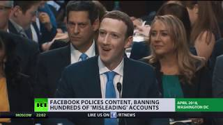 Facebook polices content, banning hundreds of 'misleading' accounts - RUSSIATODAY