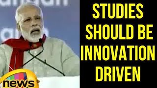 PM Modi Says, Studies Should Be Innovation Driven, Not Exam Oriented | Mango News - MANGONEWS