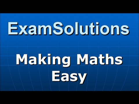 Sxy, Sxx : S1 Edexcel June 2012 Q3(c) : ExamSolutions Maths Videos