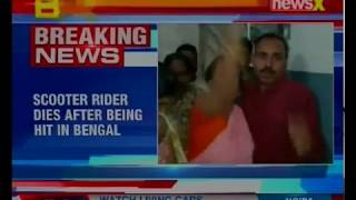 Madhyamgram: Man dies after being hit by civic volunteer; tension in area following Rider's death - NEWSXLIVE