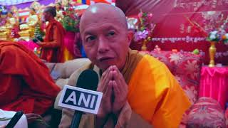 20 Sep, 2018 - Buddhists gather for charity to monks in northern India - ANIINDIAFILE